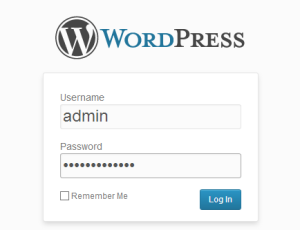 wordpress_login_admin
